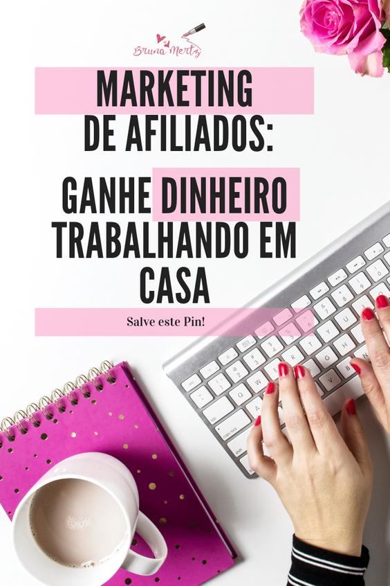 Marketing de Afiliados: Ganhe dinheiro trabalhando em casa