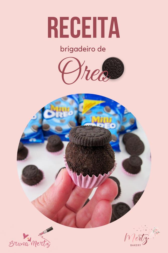 RECEITA: Brigadeiro de Oreo Gourmet