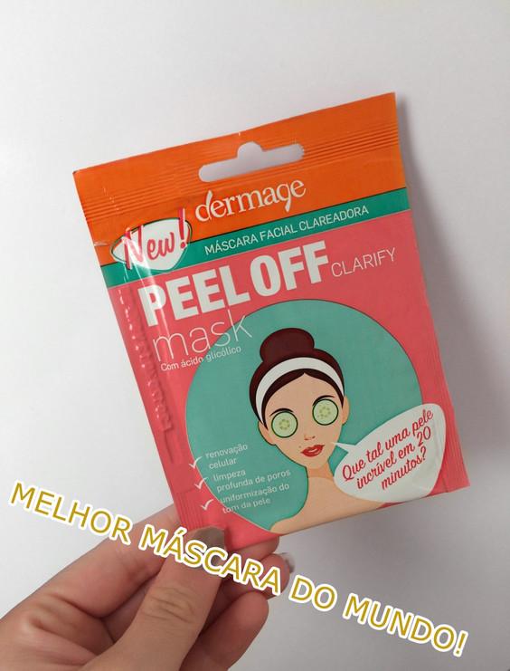 Resenha: Máscara Dermage PEEL OFF