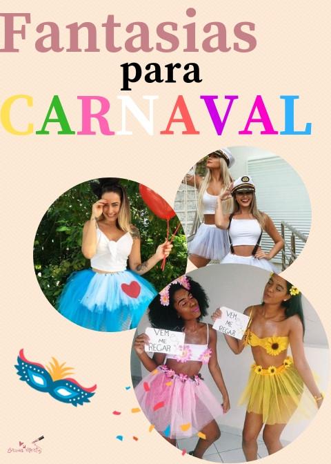 FANTASIAS PARA CARNAVAL 2019!