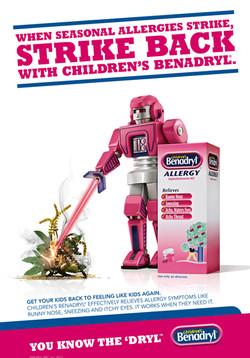 BENADRYL - ROBOT