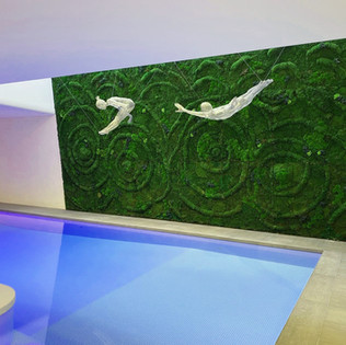 Large Moss Wall By Arti Green