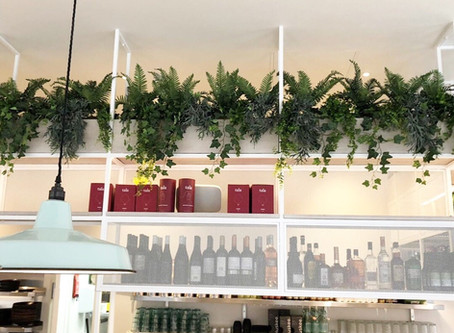 Artificial Fire Retardant Plants For The New Stem & Glory Restaurant