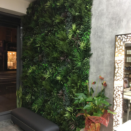 Artificial Interior Planting For A London Salon
