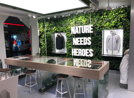 Timberland Concept Store Biophilic Design