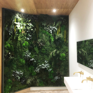Nature Republic Biophilic Forest Green Wall London