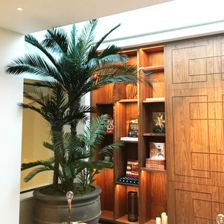 Large Artificial Palm Tree With Preserve