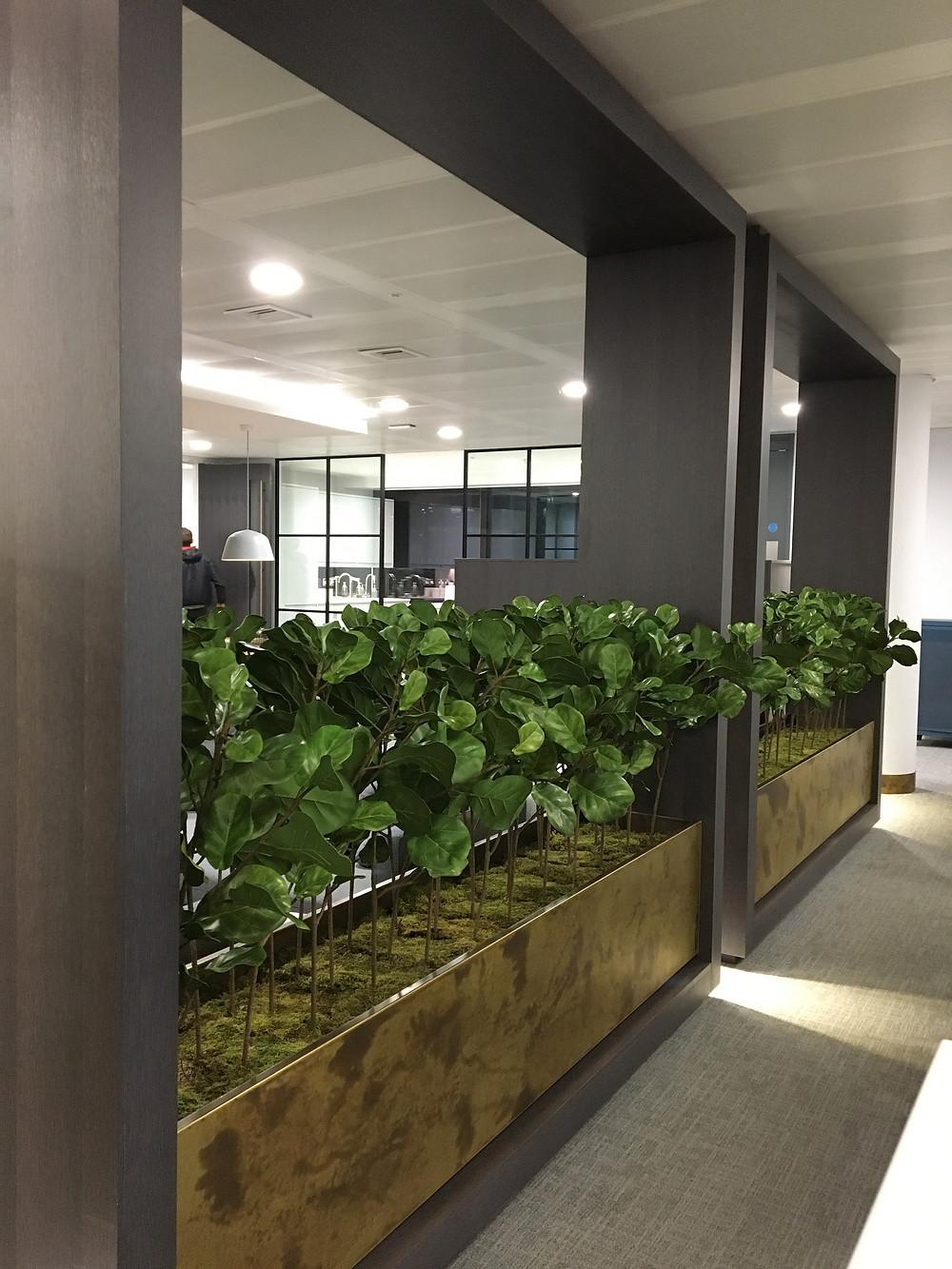 Artificial Office Planters Arti Green Ltd