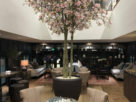 Large Artificial Magnolia Tree for a London Office