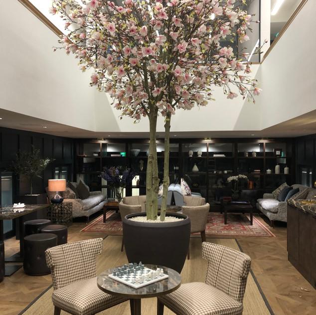 Large Bespoke Artificial Magnolia Tree