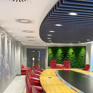 Moss Wall for Eurogarages Head Office.jp