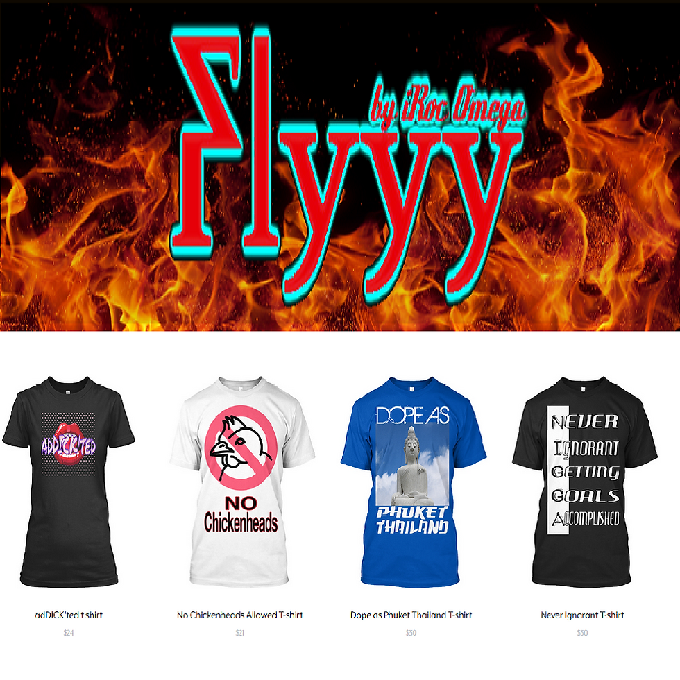 Flyyy by iRoc Omega Top Selling Tshirts