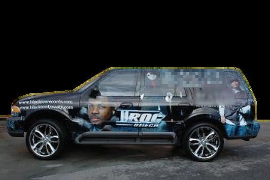 Rap Artist iRoc Omega Lincoln Navigator