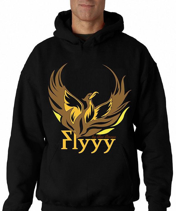 Mens Flyyy by iRoc Omega hoodie
