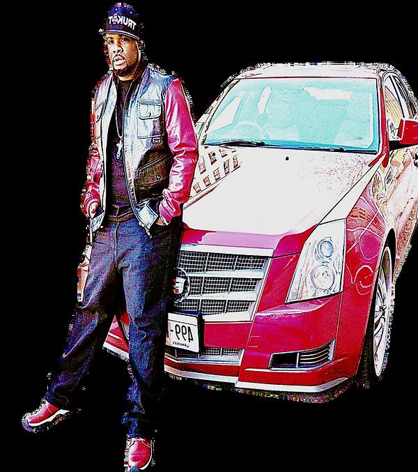 Rap Artist iRoc Omega Cadillac