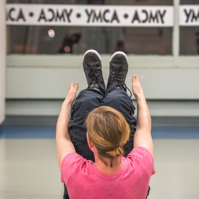 sit up at the YMCA