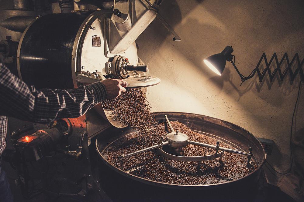 Kaffeeröstung Arabica und Robusta