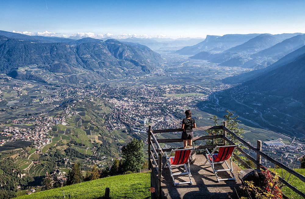 Alpen Hiking Bis Meran