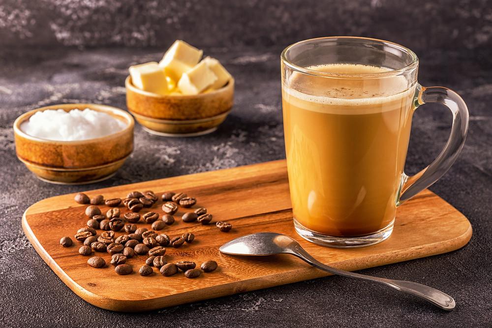 Zubereitung von Bulletproof Coffee