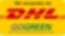 Versand per DHL GO GREEN