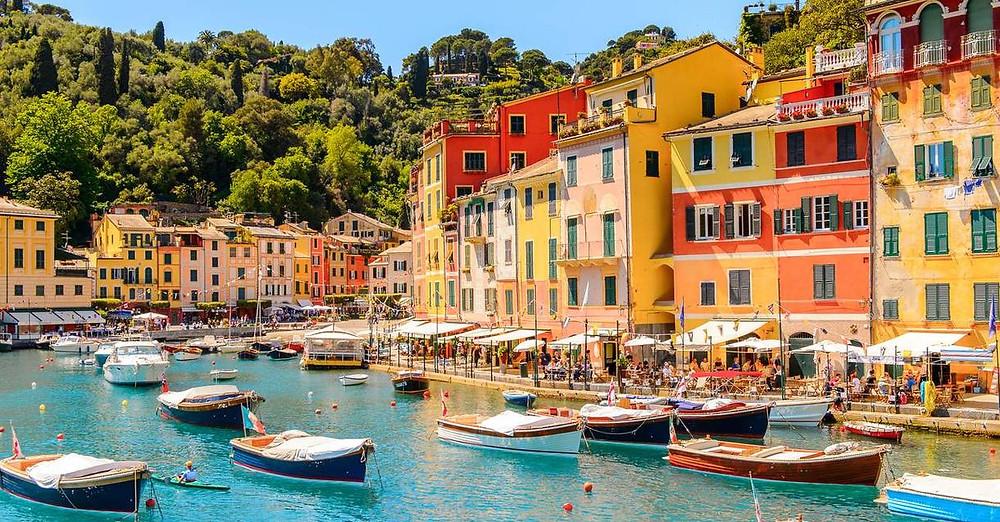 Portofino, Italienische Riviera Dayo coco