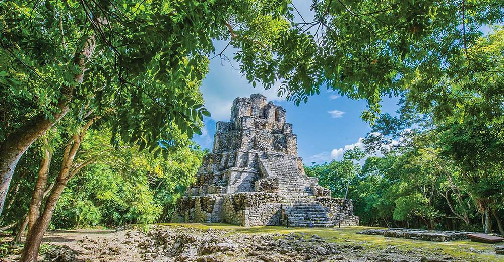 Muyil Ruinen Mexiko