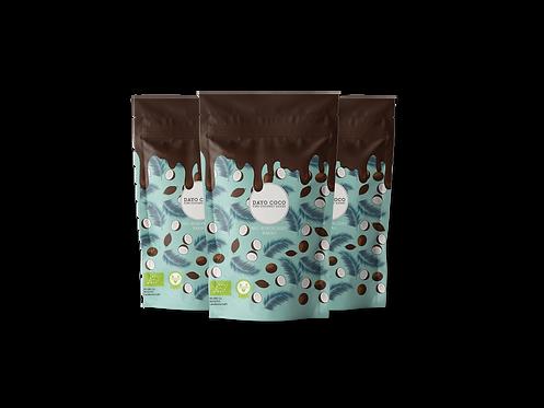3er Set Bio Kokoschips Kakao