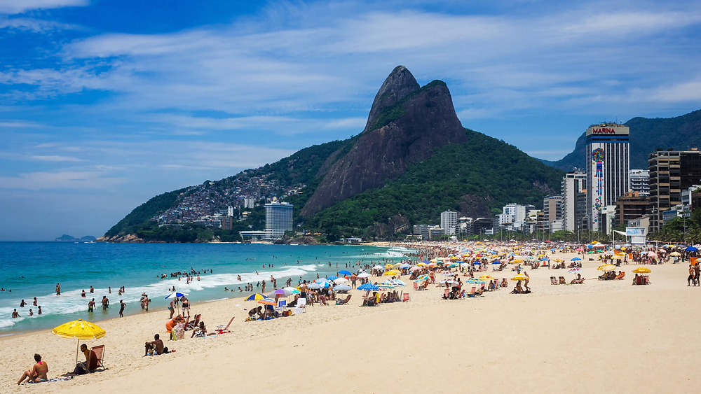 Ipanema Beach Rio de Janeiro Brasilien DAYO COCO