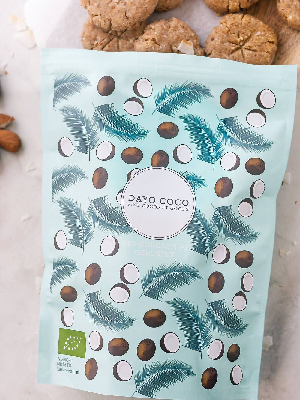 Dayo Coco geröstete Bio Kokoschips