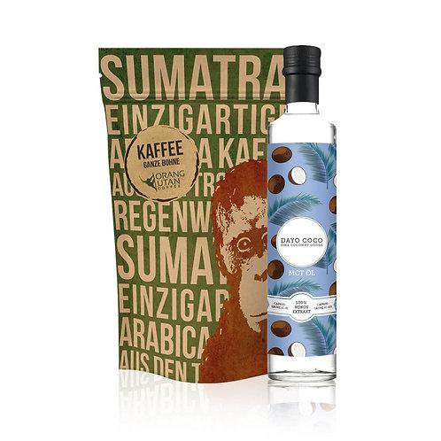 MCT Öl 500 ml + SPEICHERSTADT Orang-Utan Kaffee