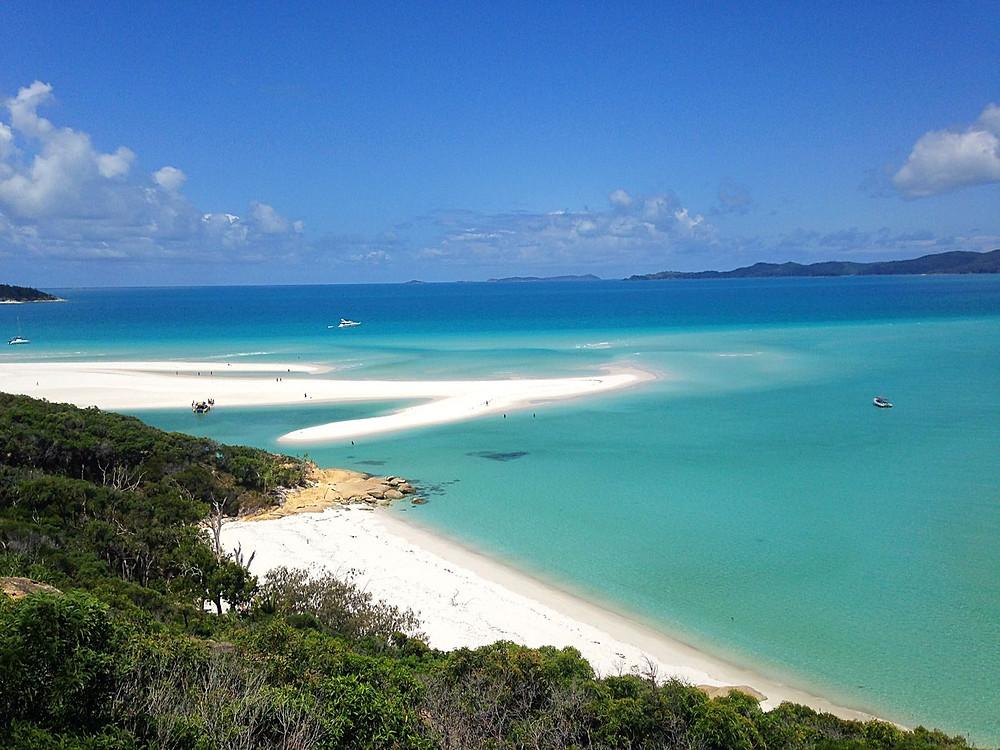 Segeln Whitsunday Islands, Australien