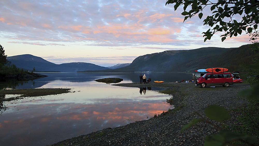 Skandinavien Campingplatz