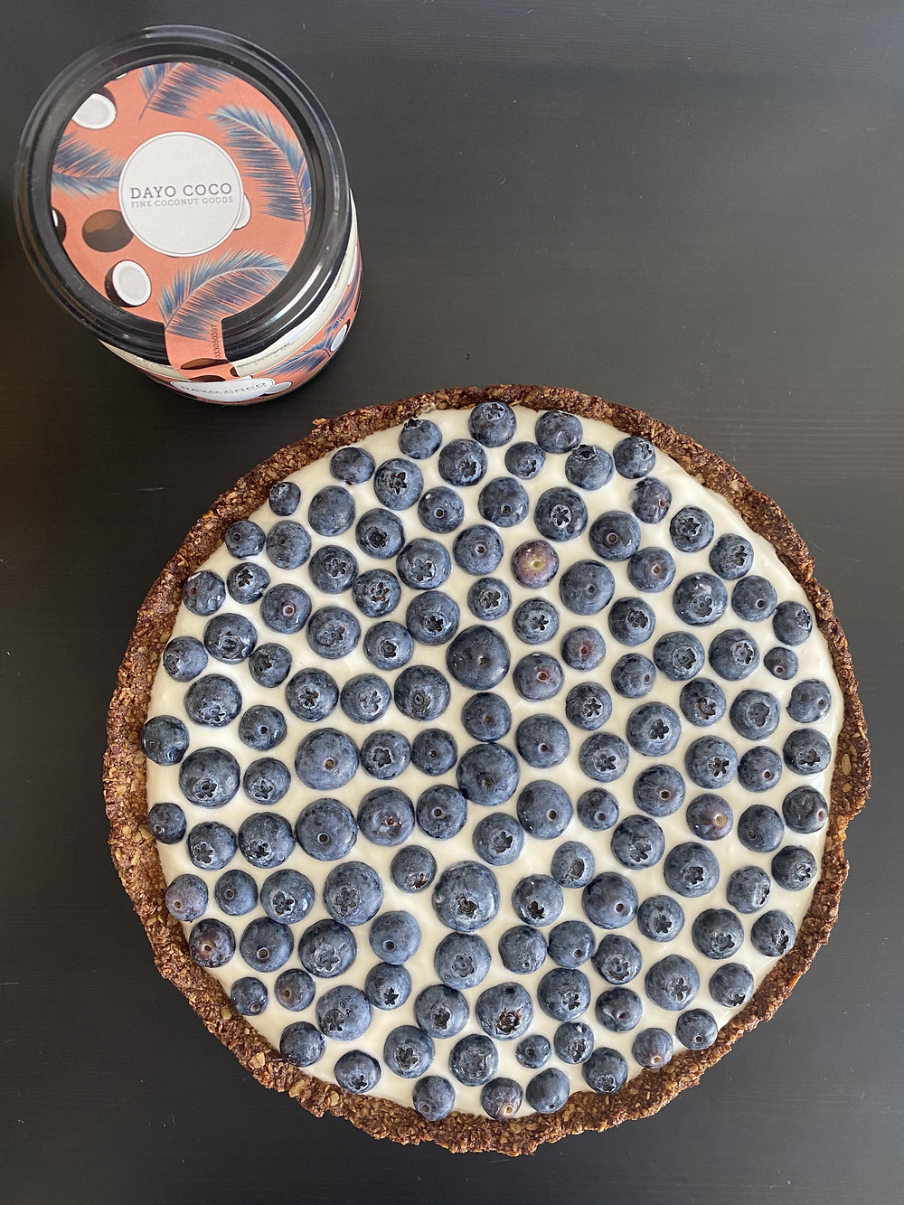 Blueberry-Tarte von DAYO COCO