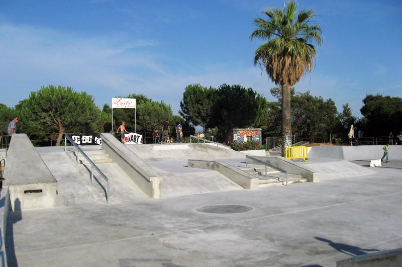 Heeres Skatepark Frankreich