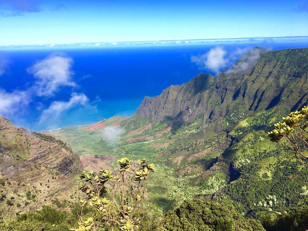 Na Pali Küste auf der Garteninsel Kauai Hawaii Trip