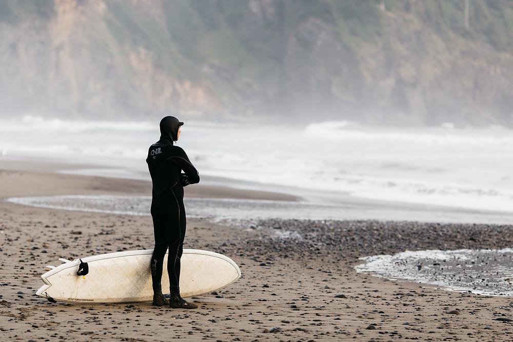 Wetsuit zum Surfen