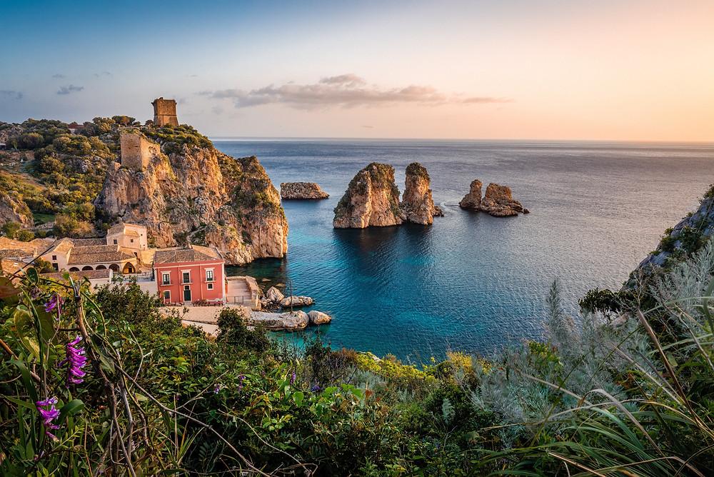 Urlaub auf Sizilien, Italien mit Dayo Coco