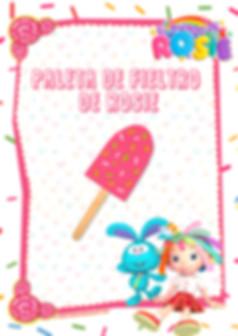 Spanish - Rosie's Felt Ice Pop - Page 1.