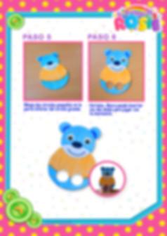 Spanish - Big Bear's Finger Puppet - Pag