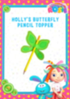 RS574_Craft - Holly's Butterfly Pencil T