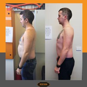 Edward Kays - The challenge of gaining 34kgs