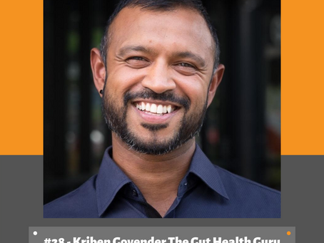 3 Strategies to Improve Gut Health from Kriben Govender