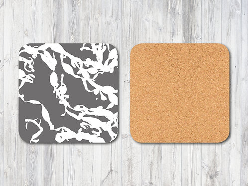 Seaweed Square Coaster Set
