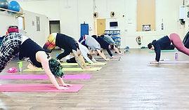 Yoga with _avrilfoxxuk is every Thursday