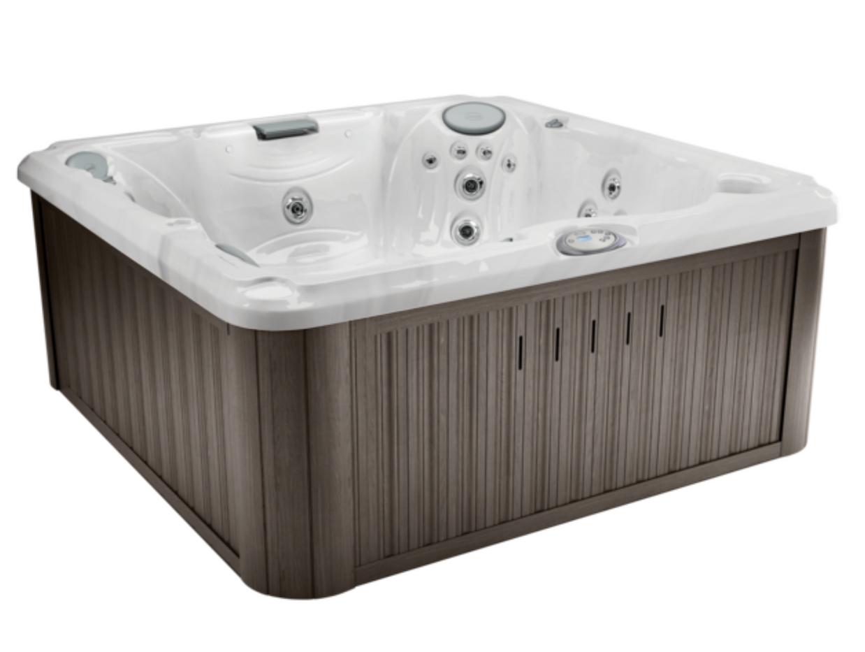 J235 - Platinum & Driftwood