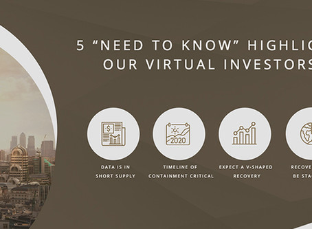 """5 """"need to know"""" highlights from our virtual investors"""