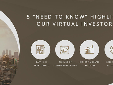 "5 ""need to know"" highlights from our virtual investors"