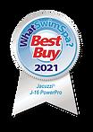 WhatSwimSpa Best Buy Award 2021 Jacuzzi