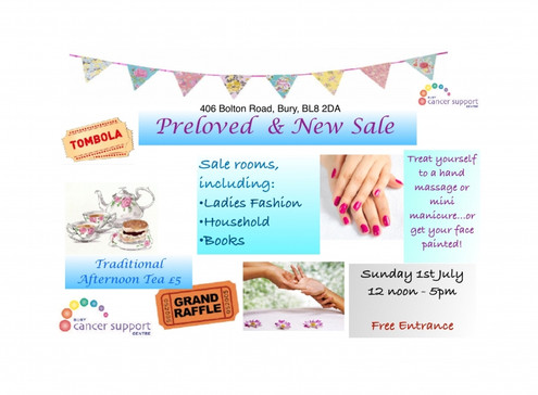 Preloved & New Sale 1st June