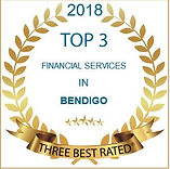 logo for 3 best rated financial planners in Bendigo